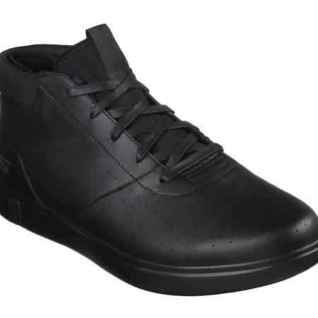 Skechers herresko læderstøvle