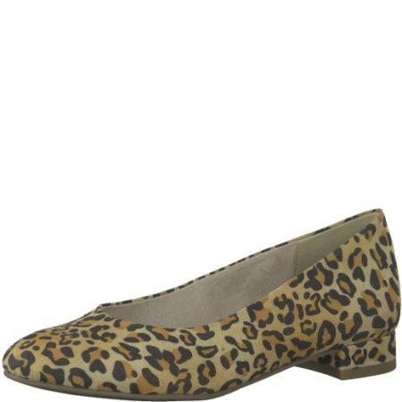 Tamaris leopard ballerina
