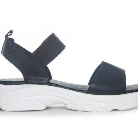 Sort sandal duffy
