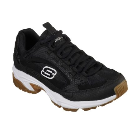 Skechers Sneakers herresko stamina classy trail 13455 black sort