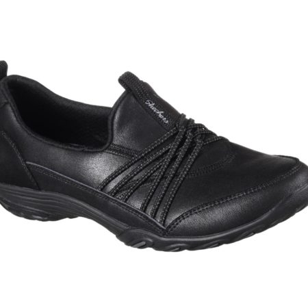 Skechers damesko empress lets be real wide fit black sort 23113