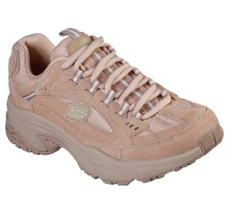 Skechers Stamina Uplift Trail womens 13451 tan sneakers nord sko damesko