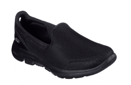 Skechers Go Walk 5 Womens 15901 black sort dame nord sko