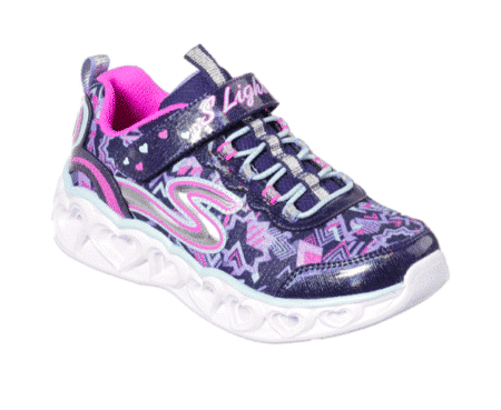 Skechers S-Lights Heart Lights pige sneakers sko 20180 nod sko