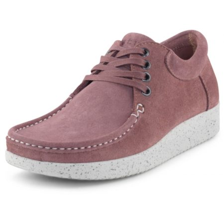 nature anne suede brown rose nord sko