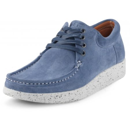 Nature Anna Nordic blue 1001-002 Suede