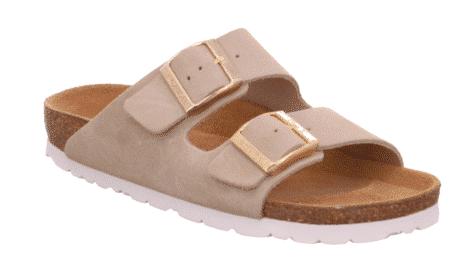 Rohde Smutters Dame 5590 sandal 2 pænder sort blå gul sand sko nord sko