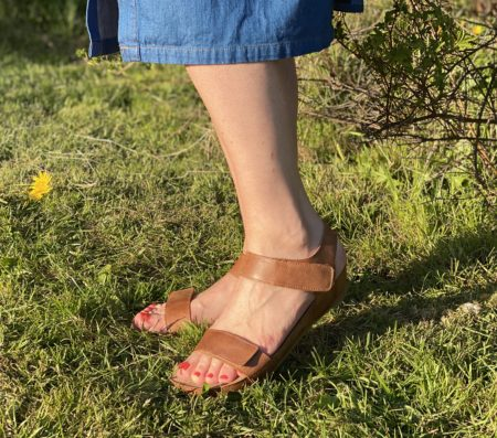 Ca'Shott Camel West Sandal - 19030-135