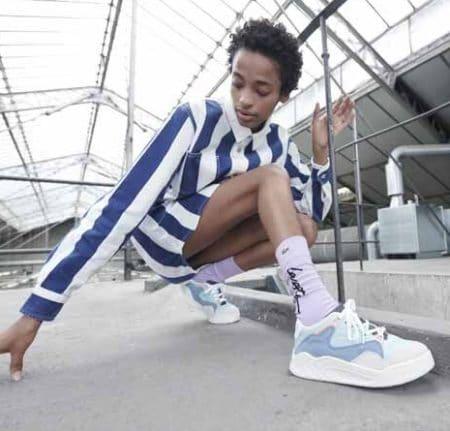Lacoste Sneakers blue Court Slam 120 - Nordsko.dk