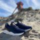 blå herre sneakers rugged gear