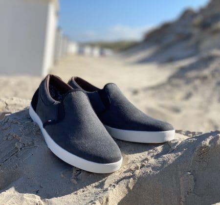 grå loafer