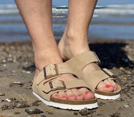 Rohde bio sandal lys beige