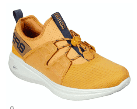 Skechers Go Run Fast Mens gul yellow sneakers 220000