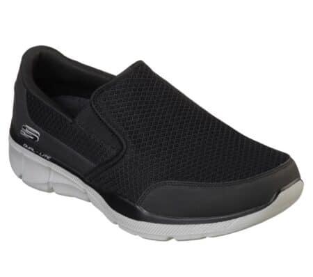 skechers sneakers hyttesko herresko blokhus hune nord sko sort grå 52984