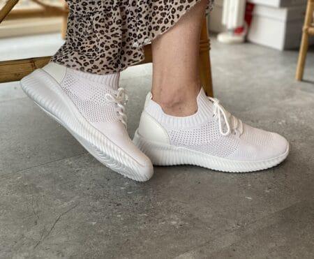 White slip on