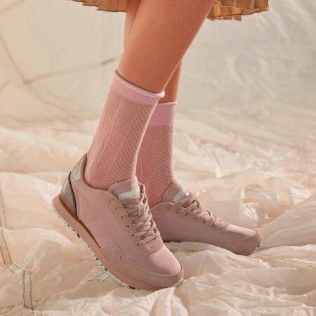 Woden nora bark rose rosa sneakers blokhus strand