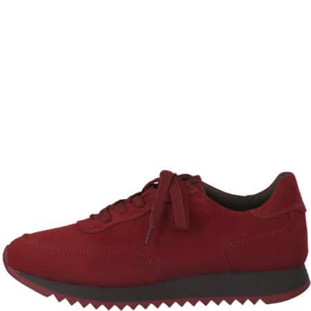 Tamaris sneakers lipstick rød bordeux