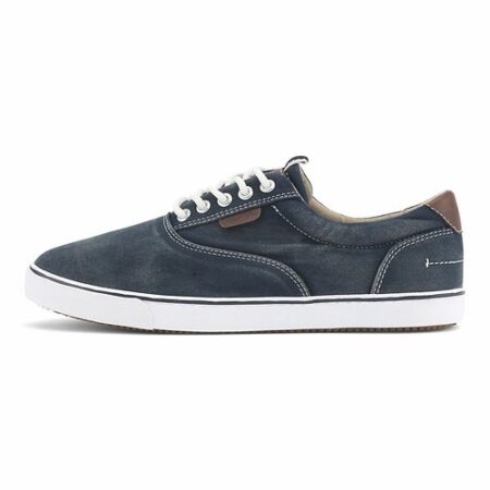 Classic canvas sneakers navy herre rugged gear