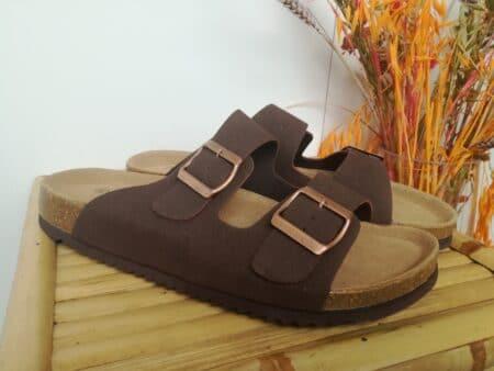 rugged gear slip on brun herre smutters sandaler nord sko