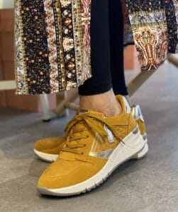 Tamaris Sneaker Gul Mustard Comb gule sneakers