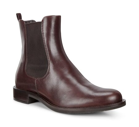 Ecoo Vinterstøvle brun støvle damestøvle læder