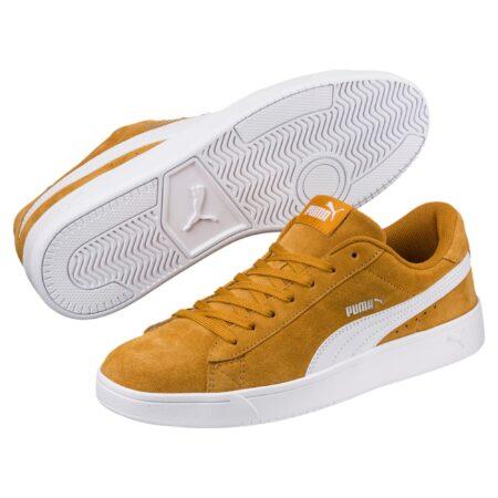 Puma gule sneakers Court Breaker Derby 367366-04