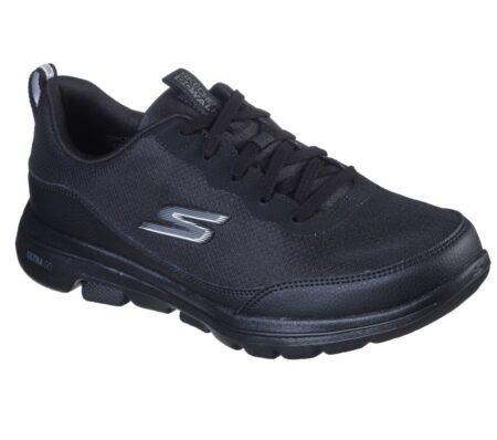 Skechers GOwalk 5 Perfect Step sneakers 124228 sort dame nord sko blokhus hune strand