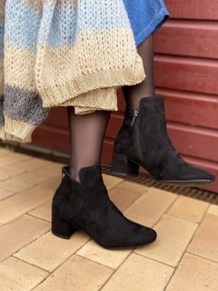 Tamris støvle m/hæl og lynlås nord sko 25372
