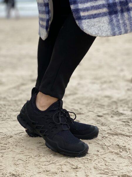 Ecco Biom AEX W Dame Sort sand 802803 sneakers kondisko nord sko