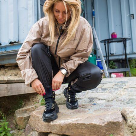 Copenhagen Shoes Karla Josefine Valentin støvle vinterstøvle 3008 sort nord sko blokhus strand skov hune
