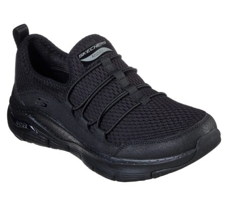 Skechers Arch Fit Lucky Thoughts sneakers dame natur hvid 149056 nord sko blokhus strrand hune