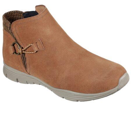 Skechers womens Seager good spirit lav støvle