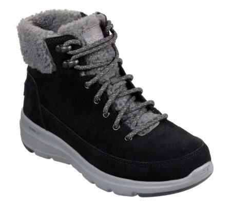 Skechers On The Go Glacial vinterstøvle støvle damestøvle 16677 sort blå nord sko blokhus hune