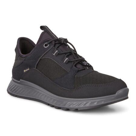 Exostride - Ecco Damesko sneakers kondisko vandtæt 835333 sort nord sko blokhus strand hune