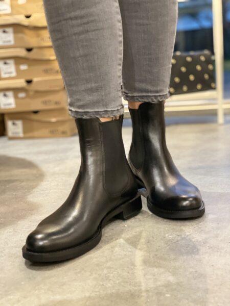 Ecco støvle damestøvle vinterstøvle vintersko sort læder