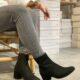 Ecco shape 35 mod block muse ruskind sort nordsko damestøvle støvle vinterstøvle