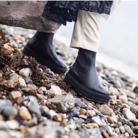 Copenhagen Shoes Going black sort cs5532 støvle biker vinterstøvle nord sko blokhus hune