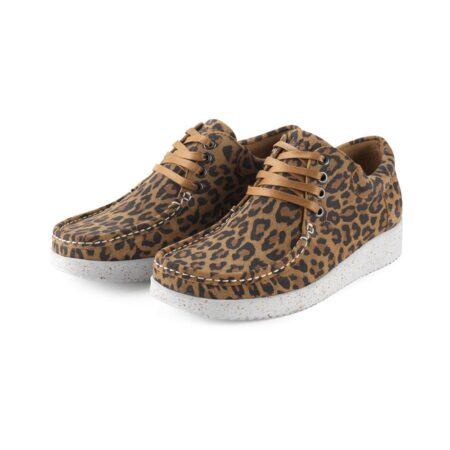 anna suede leopard nature shoes