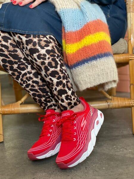 Skechers Max cushioning 17691/RDPK rød lyserød rød sneakers