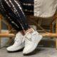 tamaris hvid sneakers plateau
