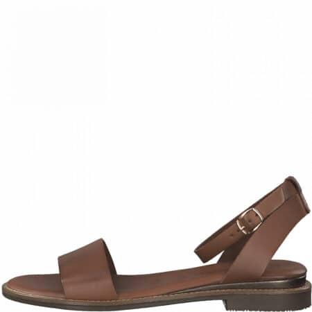 tamaris brun læder sandal 1-28260-26-001