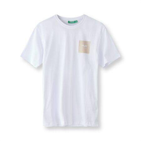lyø organic tee hvid h2o t shirt sand