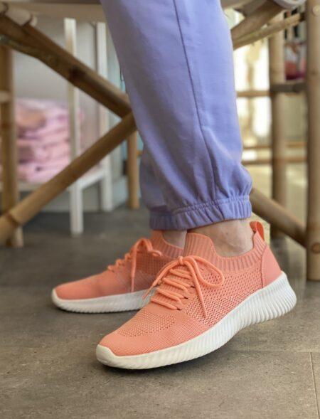 rugged gear coral sneakers med elastik