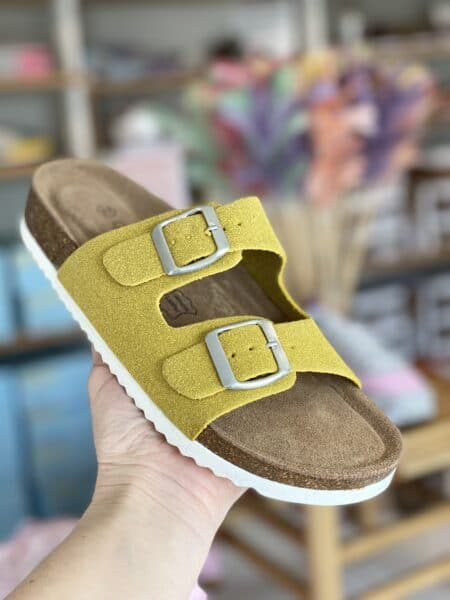 bio sandal gul