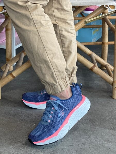 Skechers Max cushioning hælspore fofodsnedsænkning