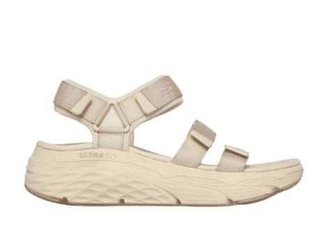 Skechers Max Cushioning - Lured plateau sandal skechers råhvid beige 140218/nat