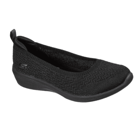 Skechers sort ballerina