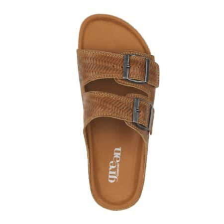 green comfort bio sandal play sandal cognac 434002Q44