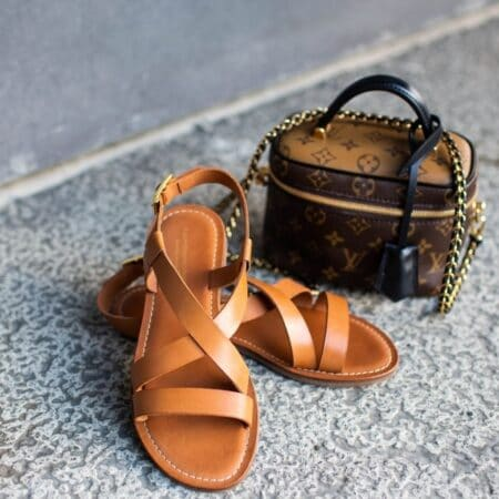 Copenhagen Shoes Mari Sandal Cognac csjv3023