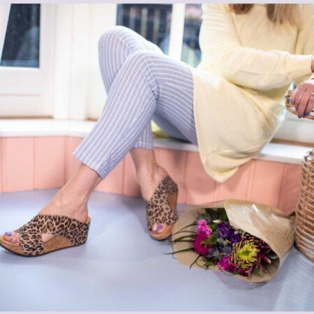 Copenhagen Shoes Frances Leopard cs1851